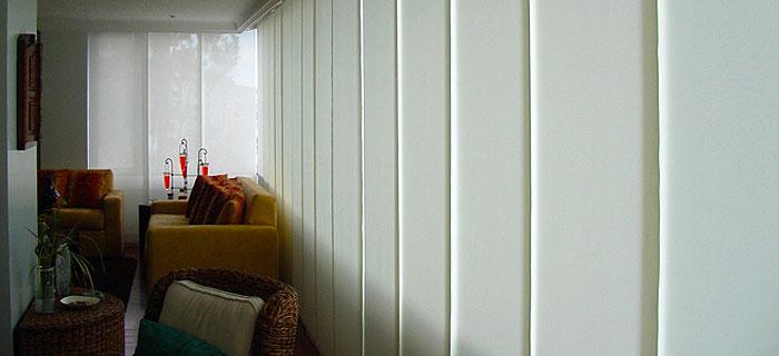 Persianas enrollables veneciana persianas panel - Cortinas separadoras de ambientes ...